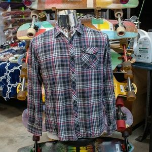 Men's zoo York button down flannel